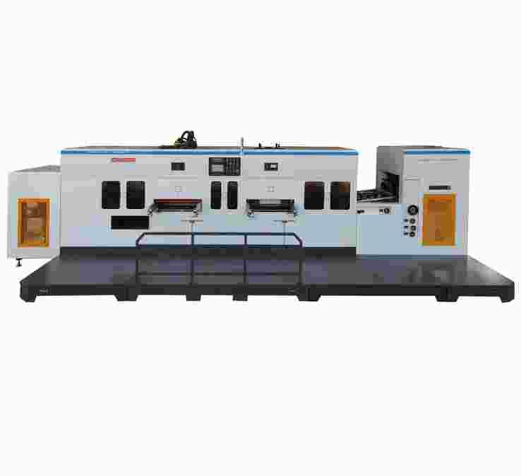 PVC/PET/PP柔軟壓痕模切復式機